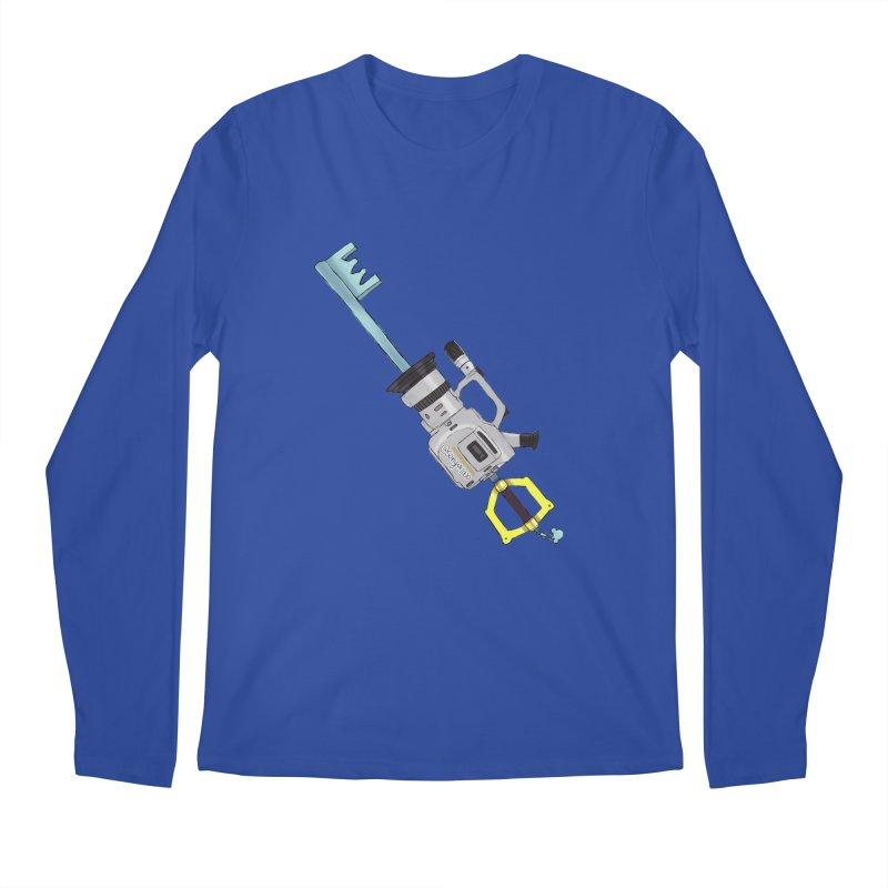 VX Keyblade Men's Longsleeve T-Shirt by Sonyvx1000's Artist Shop