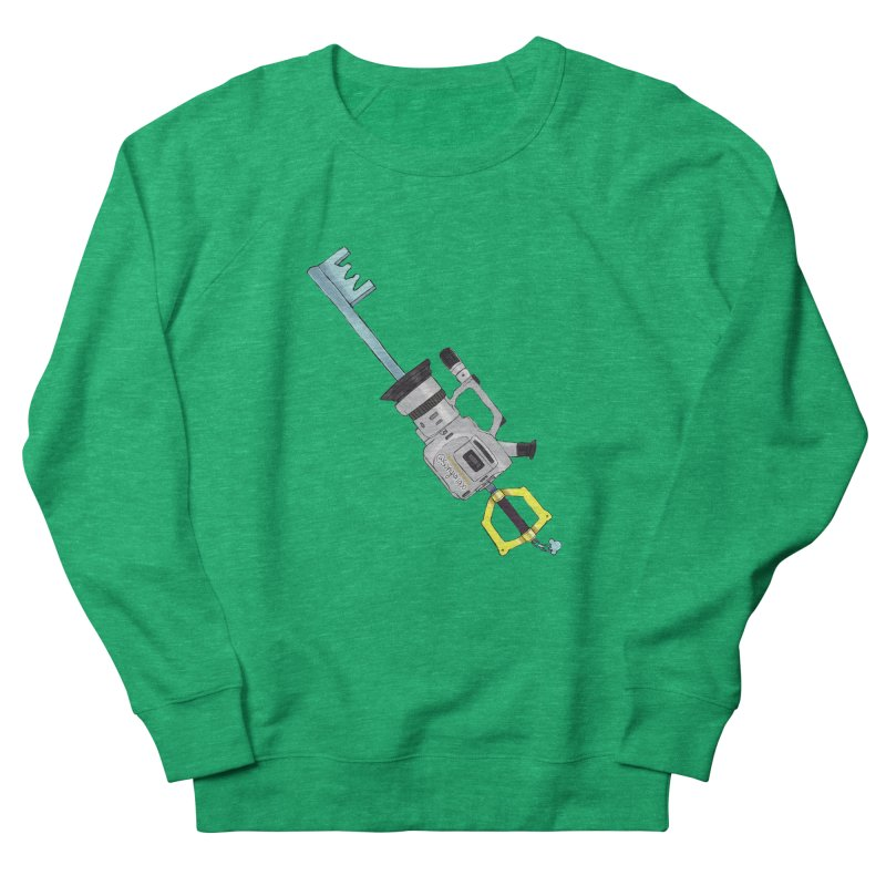 VX Keyblade Women's French Terry Sweatshirt by Sonyvx1000's Artist Shop