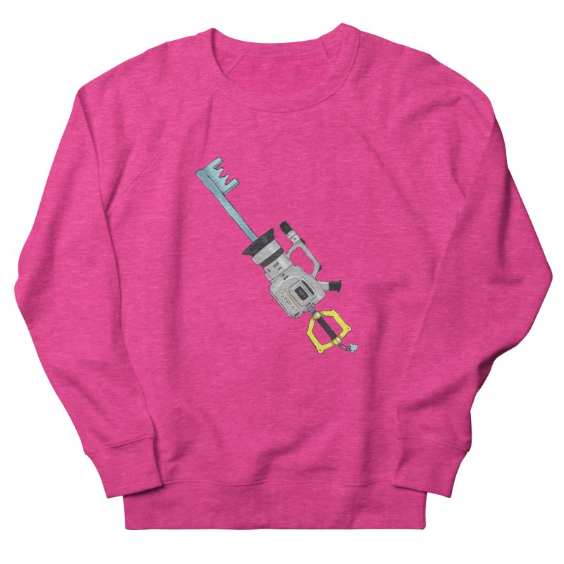 VX Keyblade Women's French Terry Sweatshirt by Sonyvx1000's Artist Shop