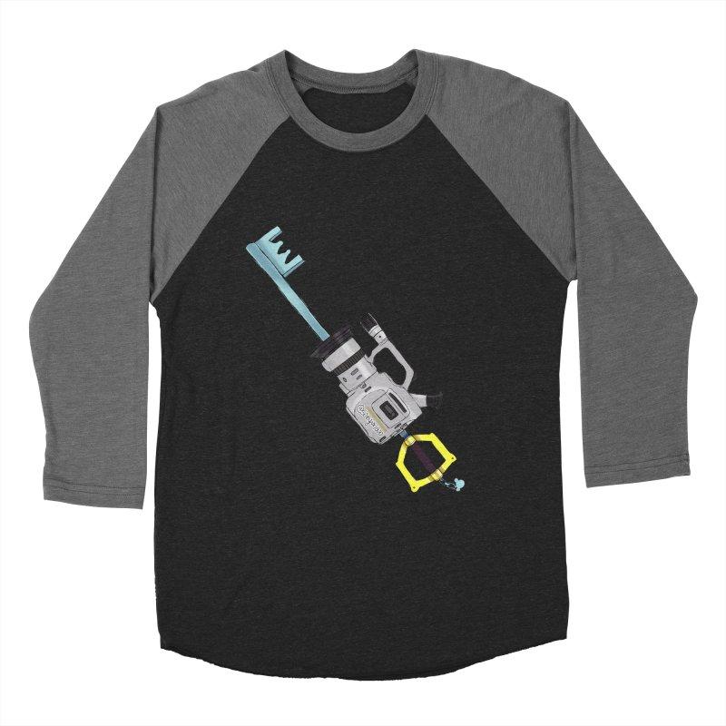 VX Keyblade Women's Baseball Triblend Longsleeve T-Shirt by Sonyvx1000's Artist Shop
