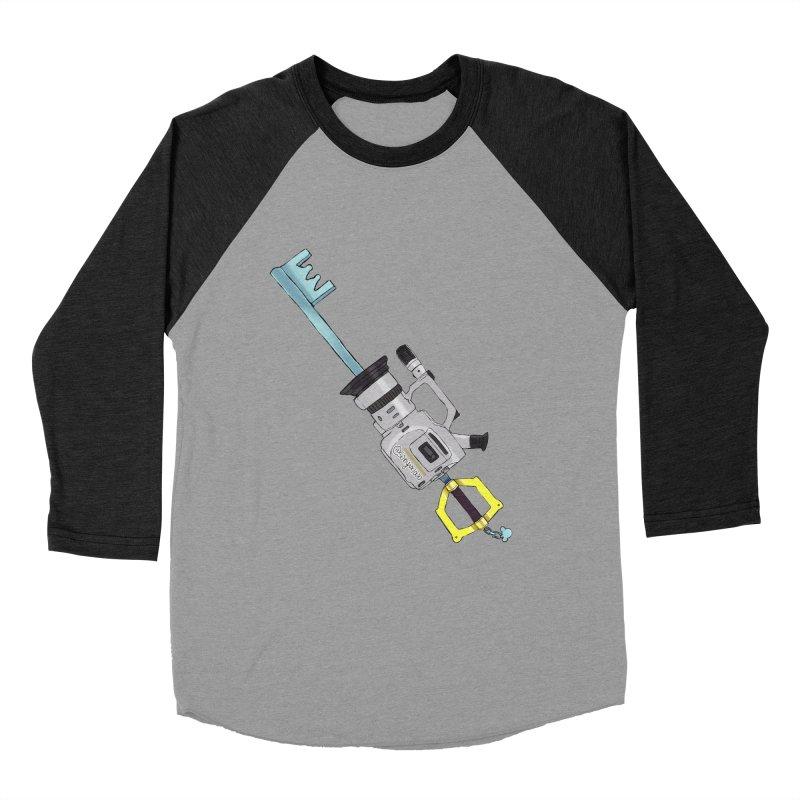 VX Keyblade Men's Baseball Triblend Longsleeve T-Shirt by Sonyvx1000's Artist Shop