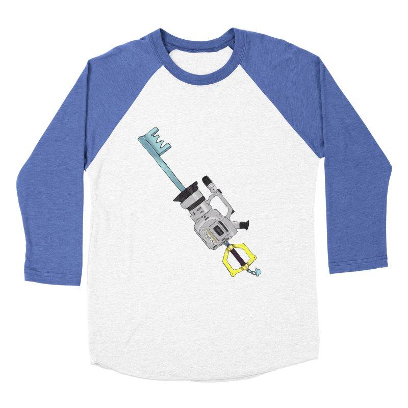 VX Keyblade Men's Baseball Triblend T-Shirt by Sonyvx1000's Artist Shop