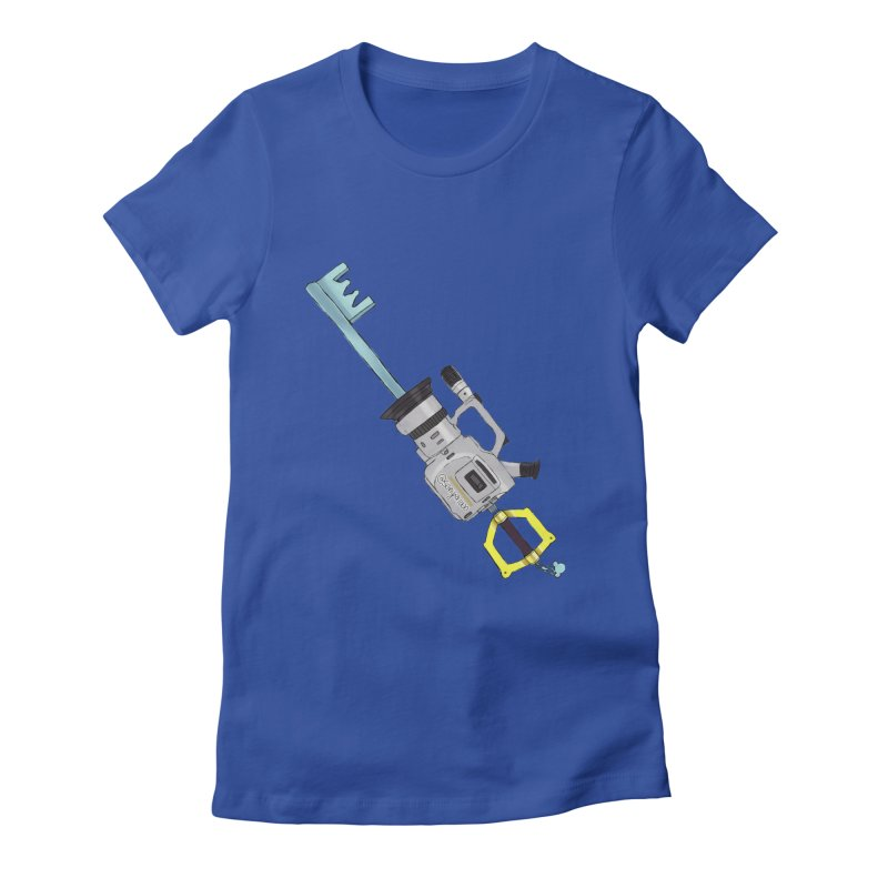 VX Keyblade Women's Fitted T-Shirt by Sonyvx1000's Artist Shop
