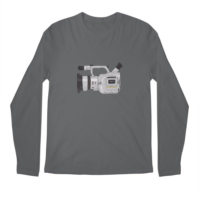Minimalist VX Men's Longsleeve T-Shirt by Sonyvx1000's Artist Shop
