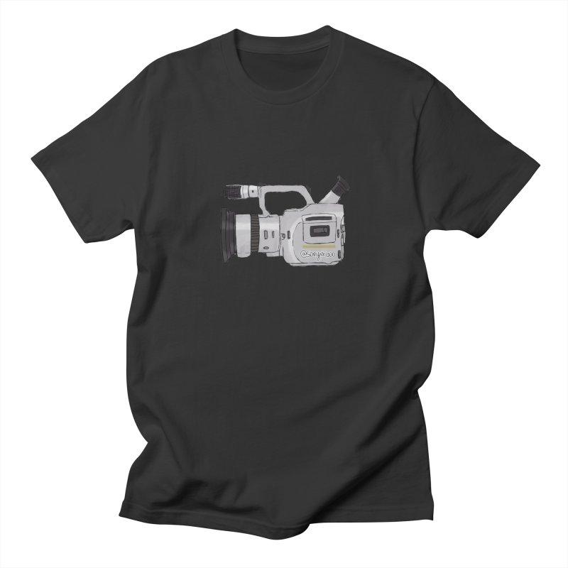 Minimalist VX in Men's T-shirt Smoke by Sonyvx1000's Artist Shop
