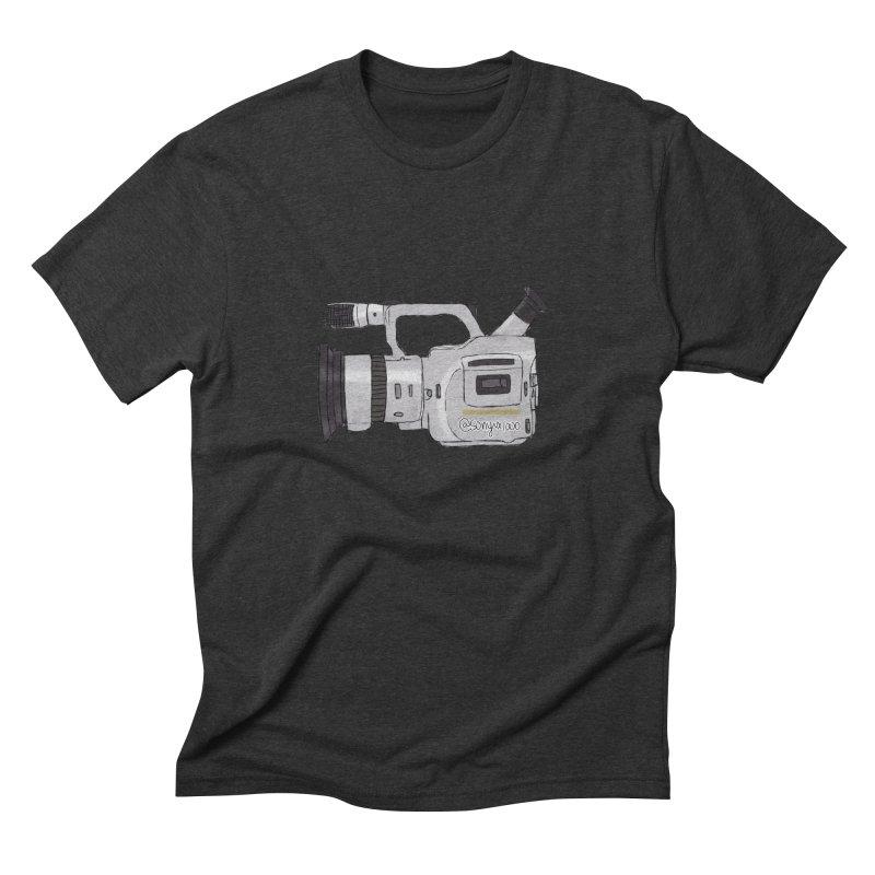 Minimalist VX Men's Triblend T-shirt by Sonyvx1000's Artist Shop