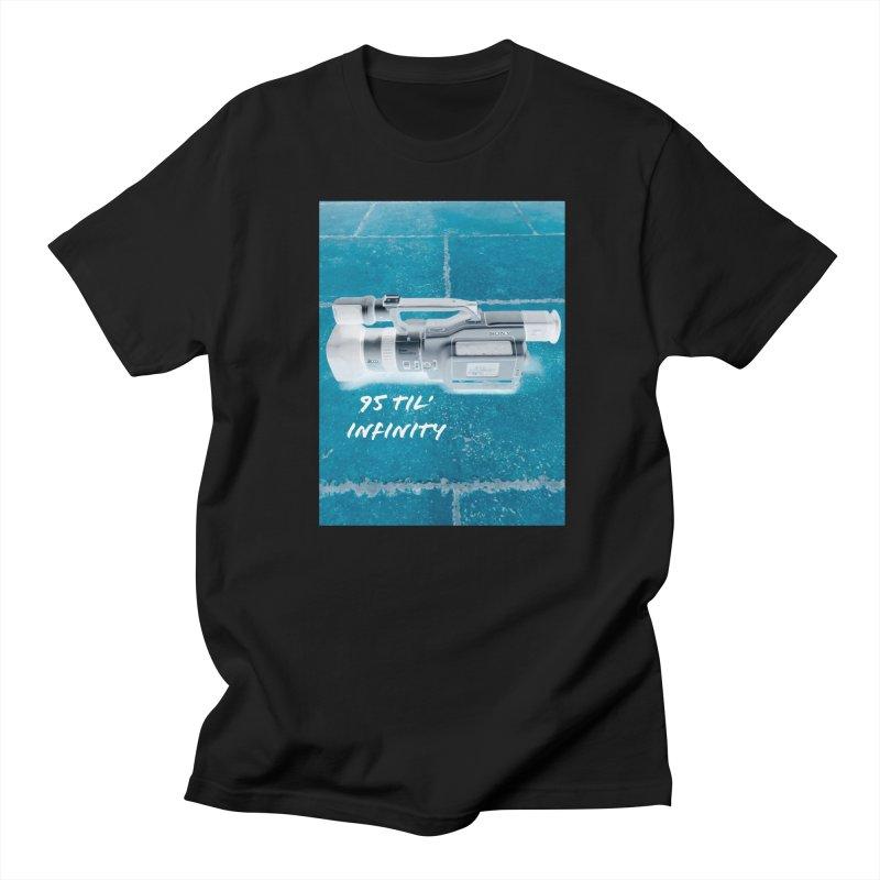 95 Til' in Men's Regular T-Shirt Black by Sonyvx1000's Artist Shop