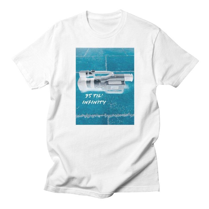 95 Til' in Men's Regular T-Shirt White by Sonyvx1000's Artist Shop