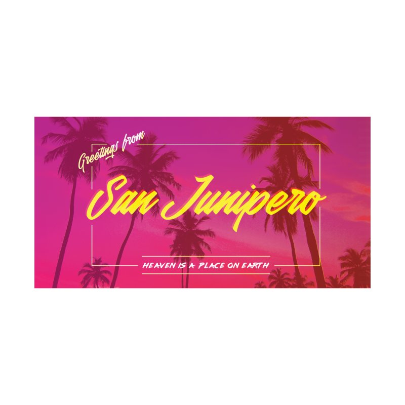 San Junipero - Black Mirror by Sophiachan's Artist Shop
