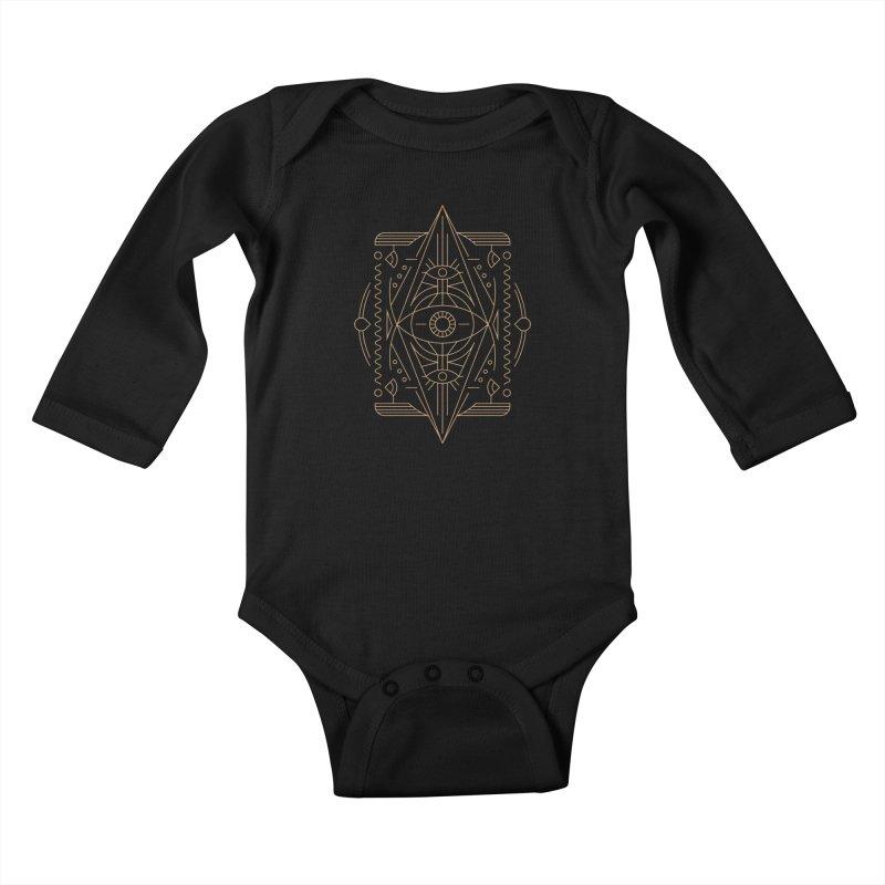 An Eye for an Eye for an Eye Kids Baby Longsleeve Bodysuit by Sophiachan's Artist Shop