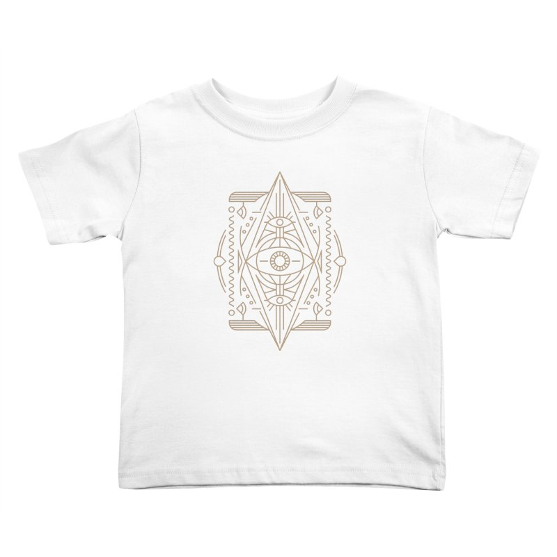 An Eye for an Eye for an Eye Kids Toddler T-Shirt by Sophiachan's Artist Shop