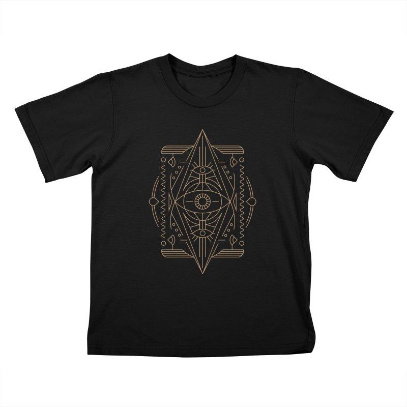 An Eye for an Eye for an Eye Kids T-Shirt by Sophiachan's Artist Shop