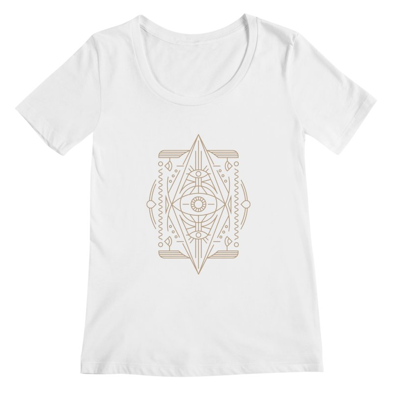An Eye for an Eye for an Eye Women's Scoopneck by Sophiachan's Artist Shop