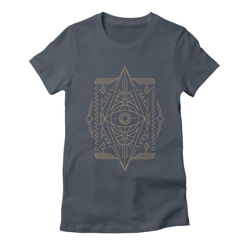 An Eye for an Eye for an Eye Women's Fitted T-Shirt by Sophiachan's Artist Shop