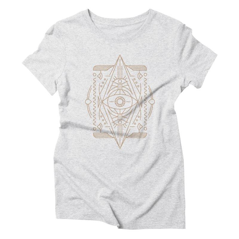 An Eye for an Eye for an Eye Women's Triblend T-shirt by Sophiachan's Artist Shop