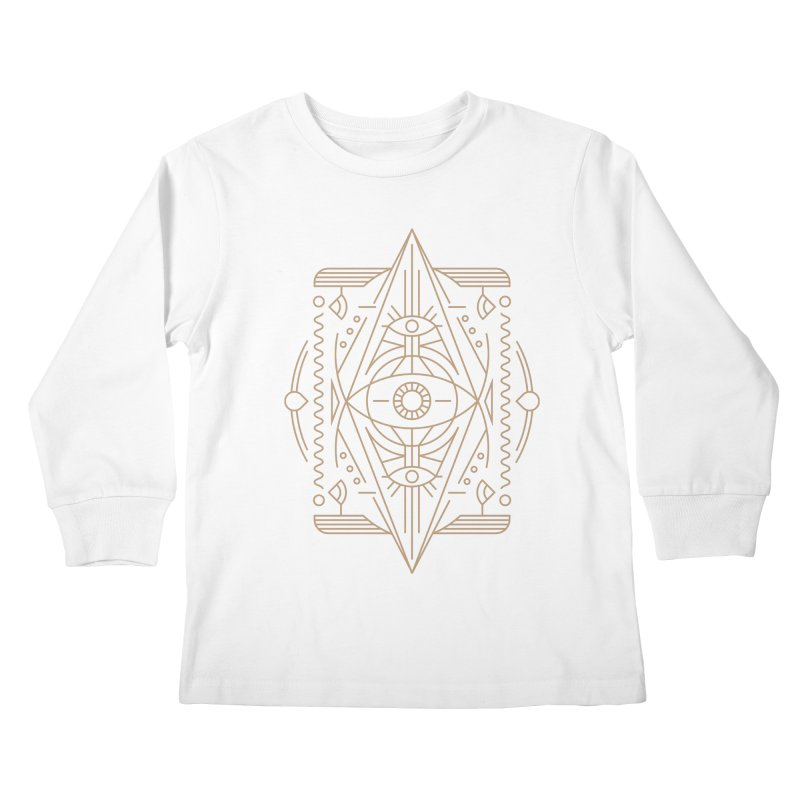An Eye for an Eye for an Eye Kids Longsleeve T-Shirt by Sophiachan's Artist Shop