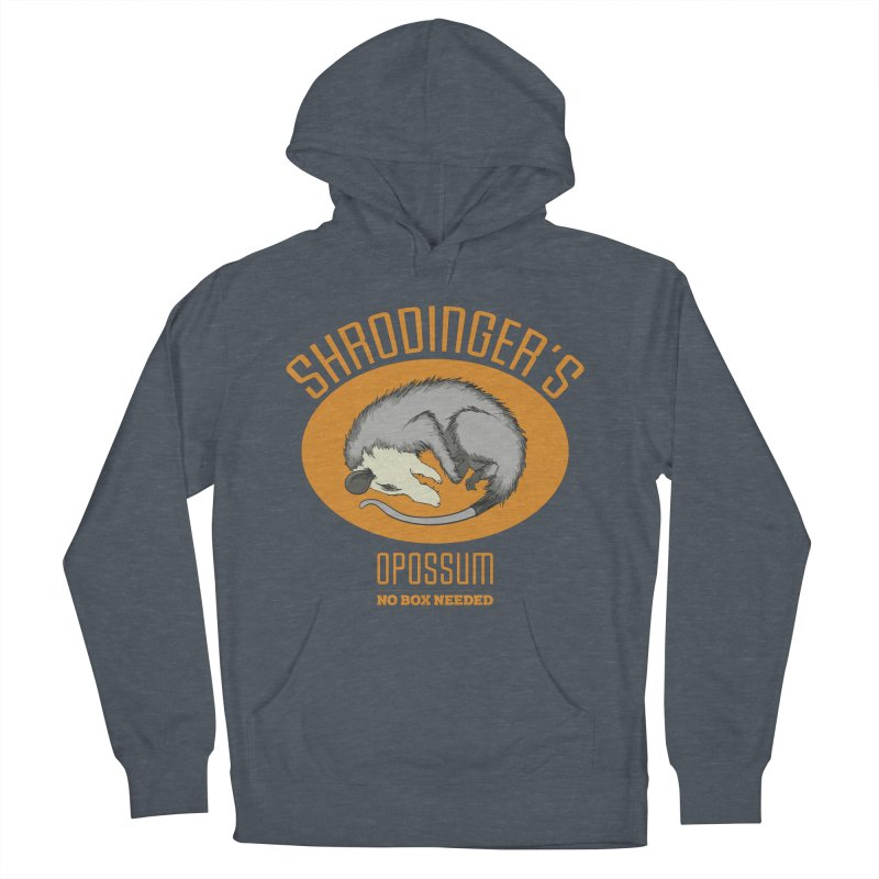 Schrodinger's Opossum Men's Pullover Hoody by Sorolo's Artist Shop