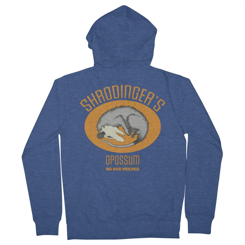Schrodinger's Opossum Women's Zip-Up Hoody by Sorolo's Artist Shop
