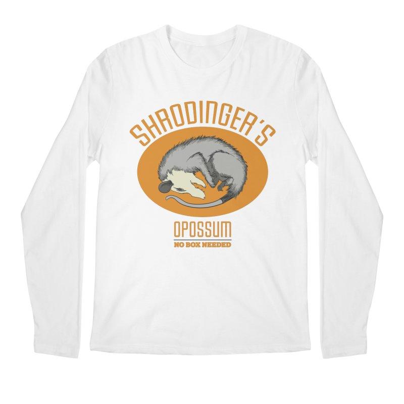 Schrodinger's Opossum Men's Longsleeve T-Shirt by Sorolo's Artist Shop