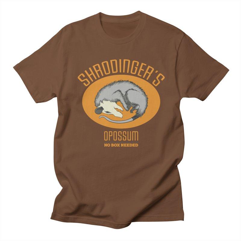 Schrodinger's Opossum Men's T-shirt by Sorolo's Artist Shop