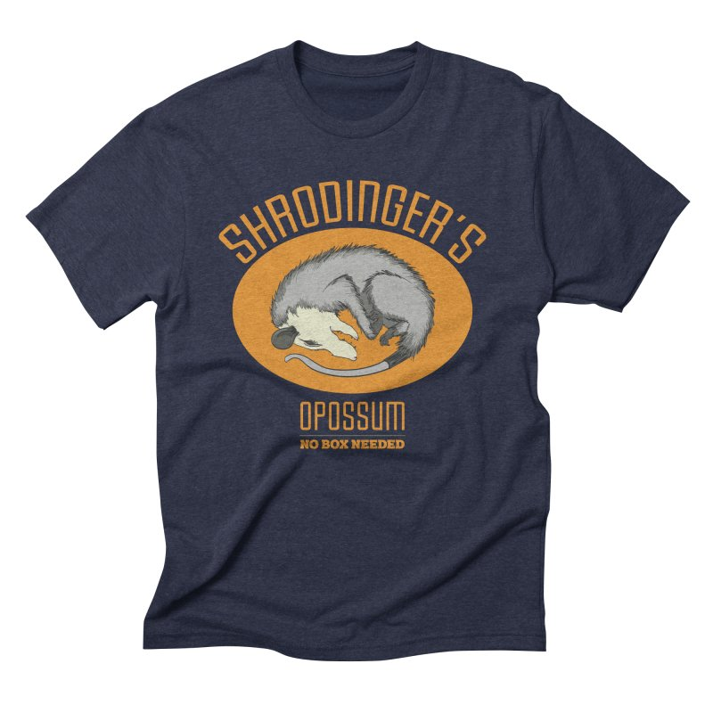 Schrodinger's Opossum Men's Triblend T-Shirt by Sorolo's Artist Shop