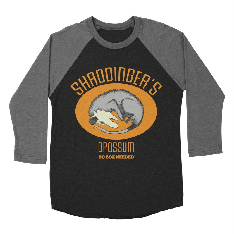 Schrodinger's Opossum Men's Baseball Triblend T-Shirt by Sorolo's Artist Shop