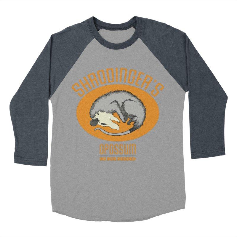 Schrodinger's Opossum Men's Baseball Triblend T-Shirt by Sorolo's Artist Shop