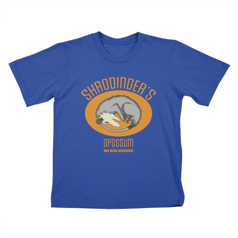 Schrodinger's Opossum Kids T-shirt by Sorolo's Artist Shop