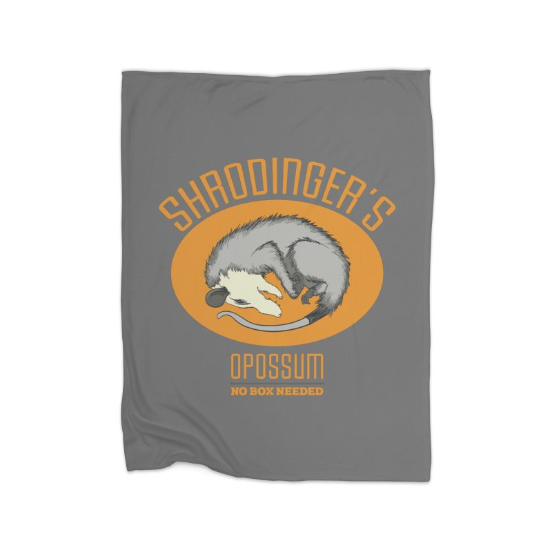 Schrodinger's Opossum Home Blanket by Sorolo's Artist Shop