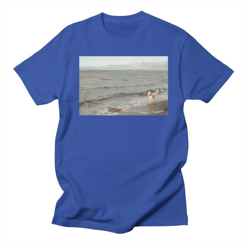 Beach Men's T-shirt by Soulstone's Artist Shop