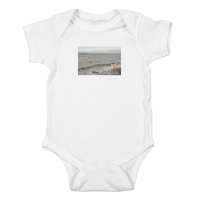 Beach Kids Baby Bodysuit by Soulstone's Artist Shop