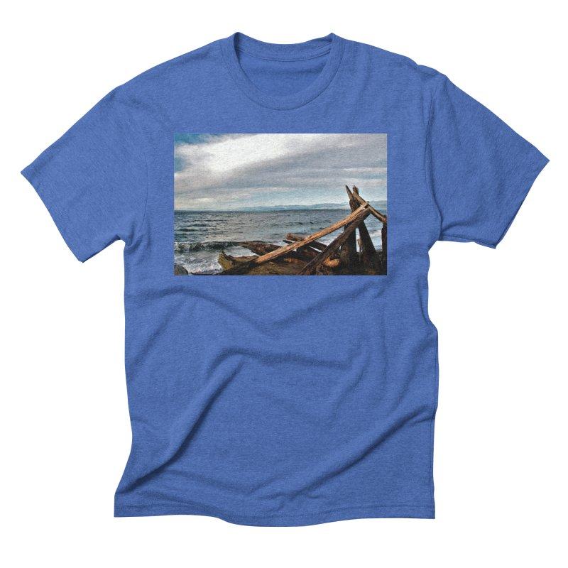 Beach 2 Men's Triblend T-Shirt by Soulstone's Artist Shop
