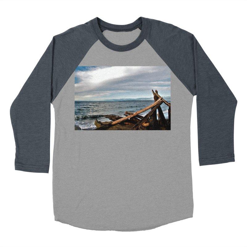 Beach 2 Women's Baseball Triblend T-Shirt by Soulstone's Artist Shop