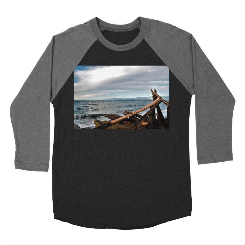 Beach 2 Men's Baseball Triblend T-Shirt by Soulstone's Artist Shop