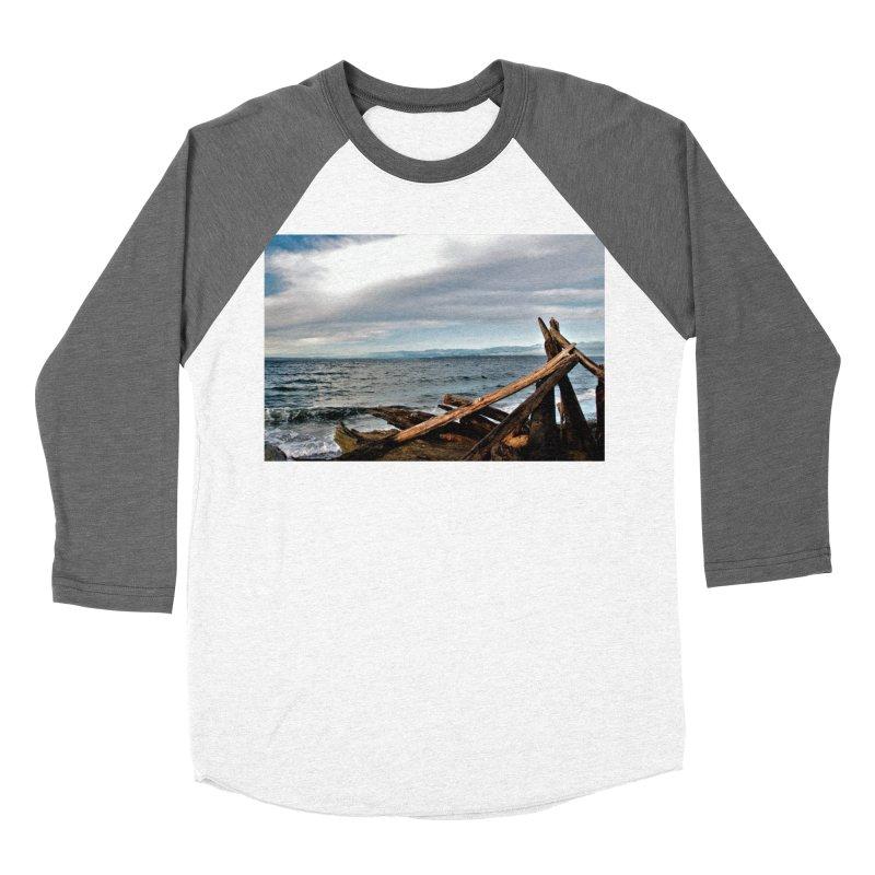 Beach 2 Men's Baseball Triblend T-Shirt by Soulstone's Artist Shop