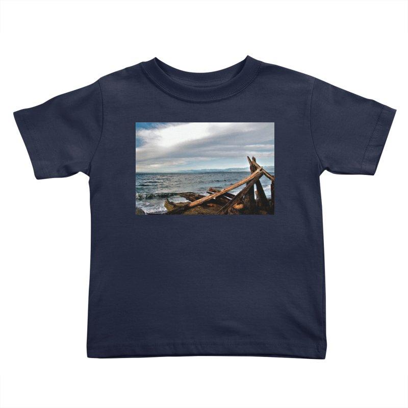 Beach 2 Kids Toddler T-Shirt by Soulstone's Artist Shop