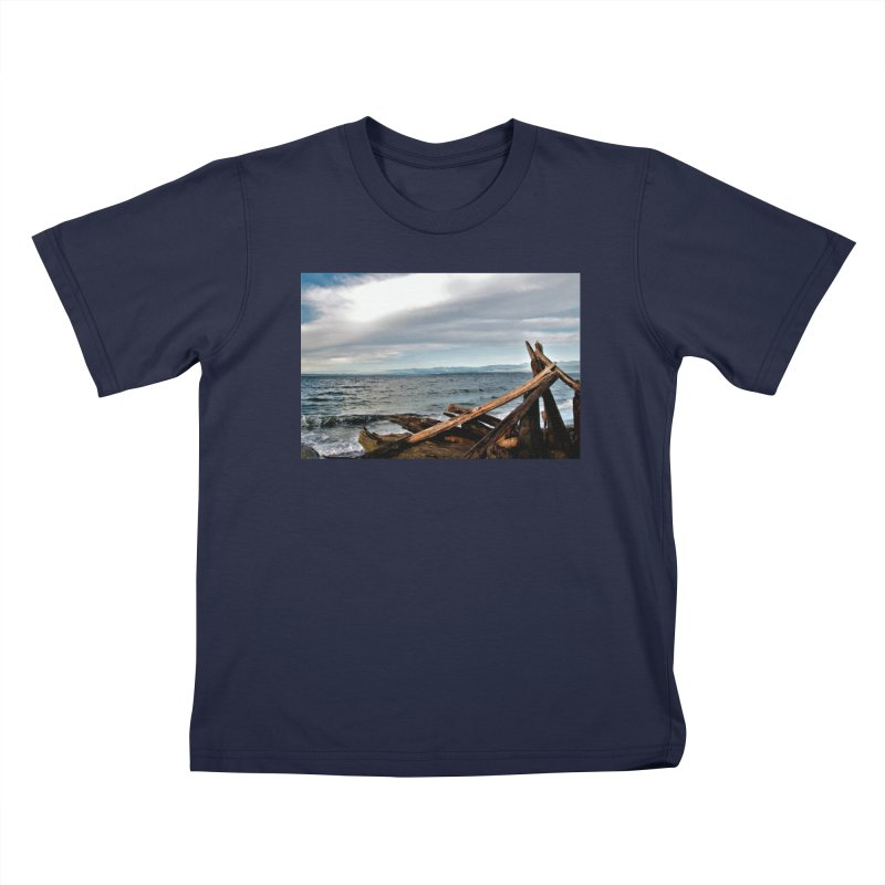 Beach 2 Kids T-shirt by Soulstone's Artist Shop