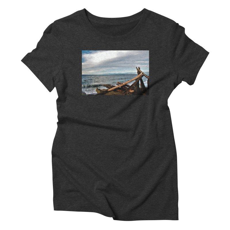 Beach 2 Women's Triblend T-Shirt by Soulstone's Artist Shop