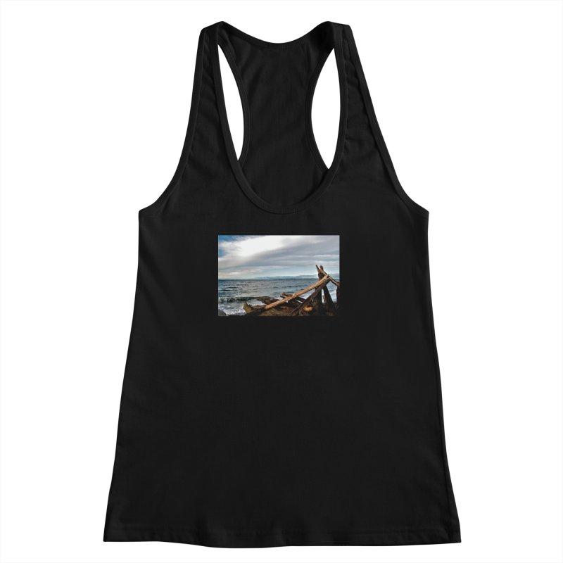 Beach 2 Women's Racerback Tank by Soulstone's Artist Shop