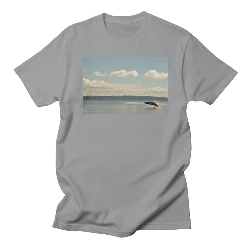 Humpback breach Men's T-Shirt by Soulstone's Artist Shop
