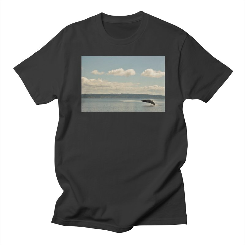 Humpback breach Women's Unisex T-Shirt by Soulstone's Artist Shop