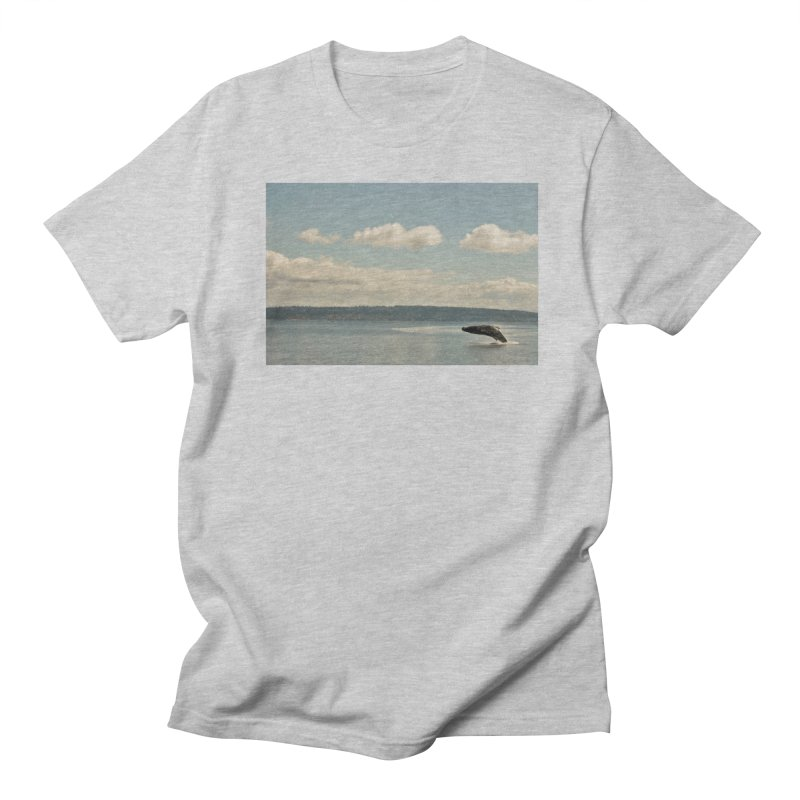 Humpback breach Men's T-Shirt by Soulstone's Artist Shop