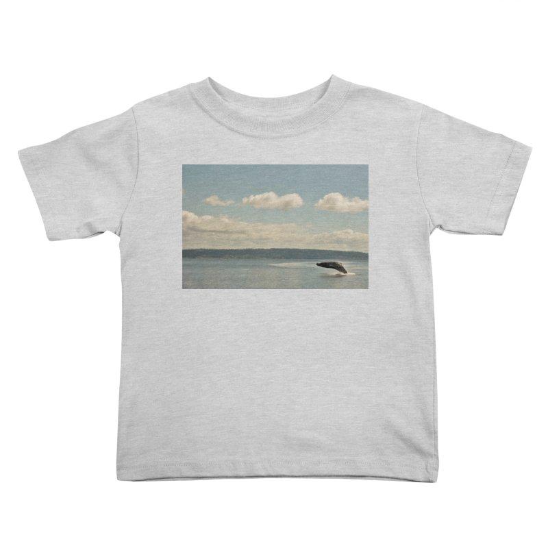 Humpback breach Kids Toddler T-Shirt by Soulstone's Artist Shop