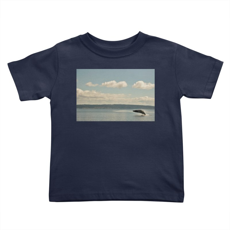 Humpback breach Kids Toddler T-Shirt by Soulstone's Artist Shop