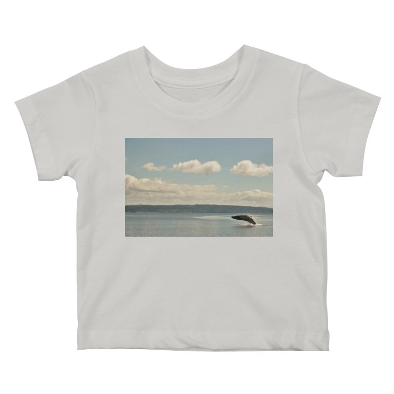 Humpback breach Kids Baby T-Shirt by Soulstone's Artist Shop