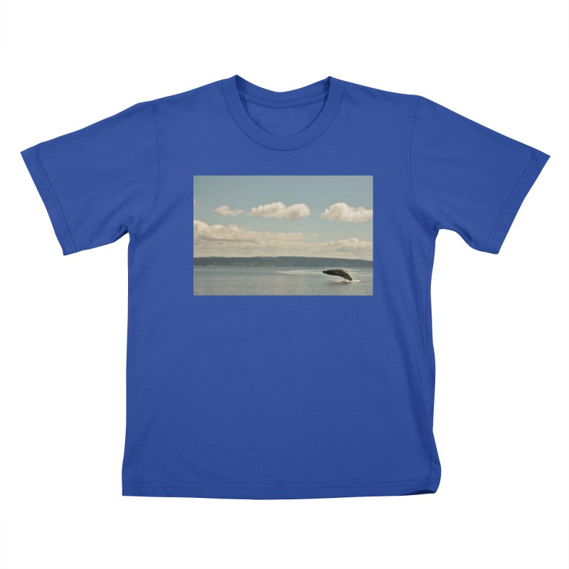 Humpback breach Kids T-shirt by Soulstone's Artist Shop
