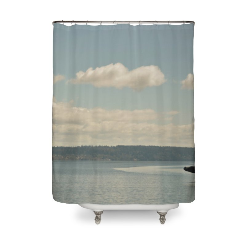 Humpback breach Home Shower Curtain by Soulstone's Artist Shop