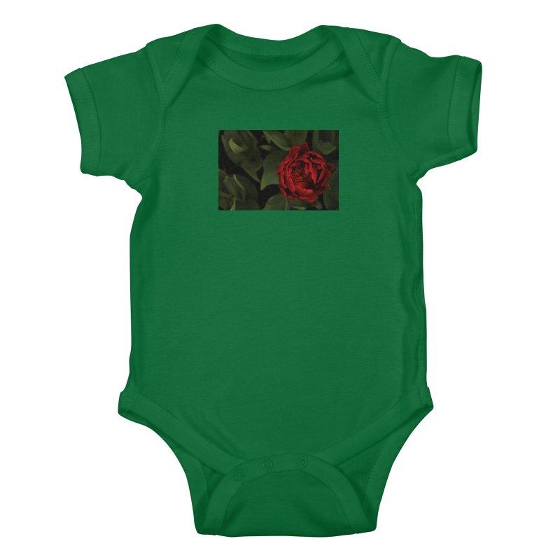Rose Kids Baby Bodysuit by Soulstone's Artist Shop