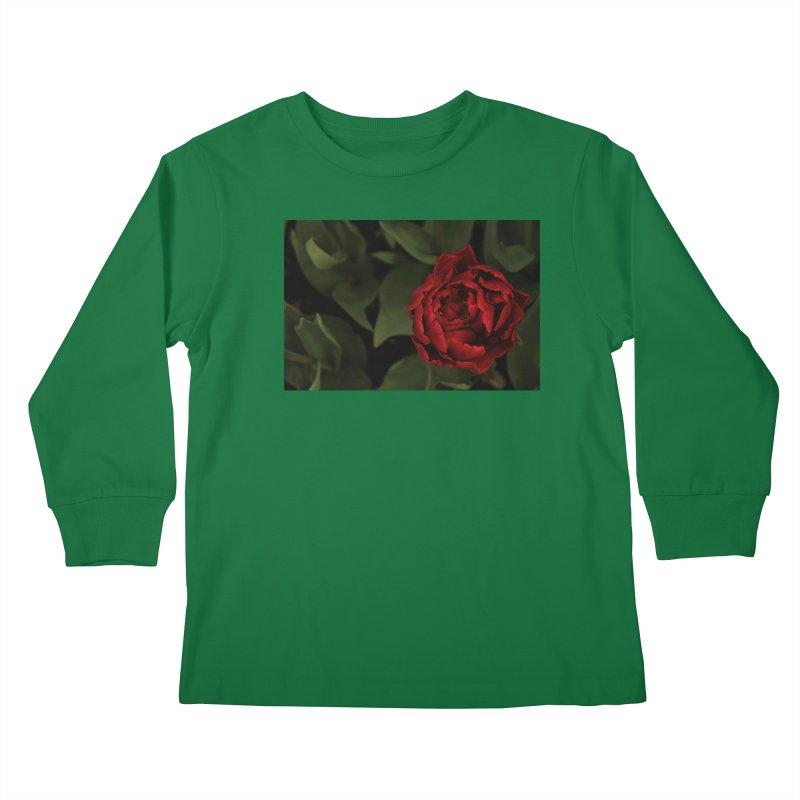 Rose Kids Longsleeve T-Shirt by Soulstone's Artist Shop