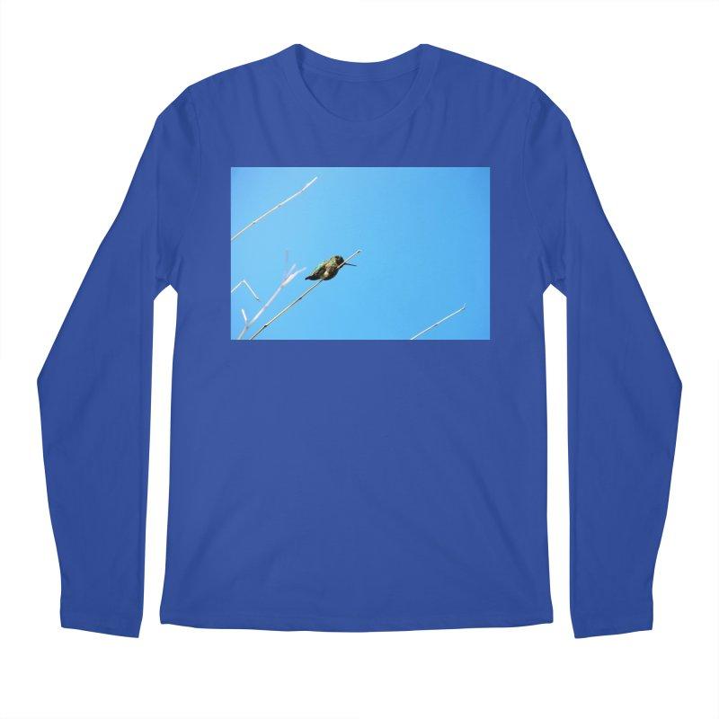 Hummingbird Men's Longsleeve T-Shirt by Soulstone's Artist Shop